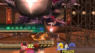 xHx vs Pikachh24Fan SSB Wii U Highlights