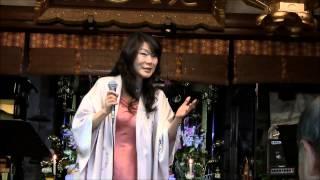 2013年5月3日・法住寺(京都・三十三間堂東隣) 「愛のうた」=作...
