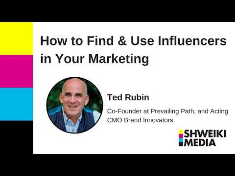 How to Find and Use Influencers In Your Marketing