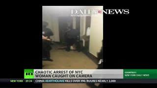 NYPD assaults, arrests half-naked grandmother