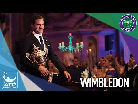 Federer Reacts To Winning Wimbledon