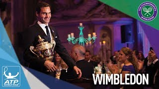 Federer Reacts To Winning Wimbledon 2017
