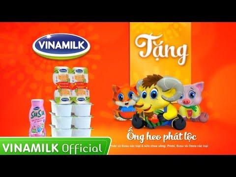 Quảng cáo cho bé yêu ăn ngon - Vui Tết Ất Mùi cùng Vinamilk