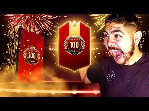 OMFG I GOT TOP 100!!!! FIFA 19