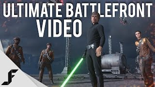 ULTIMATE STAR WARS BATTLEFRONT VIDEO - Everything in the game(This video covers all of the content in Star Wars Battlefront at launch and the changes made since the beta. New gameplay in here with weapons, heroes, Star ..., 2015-11-12T16:55:43.000Z)