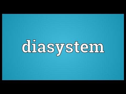 Header of diasystem