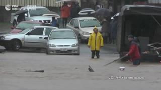 Последствия наводнения в Чили