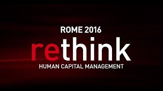 ADP ReThink 2016: Transform the Way the World Works