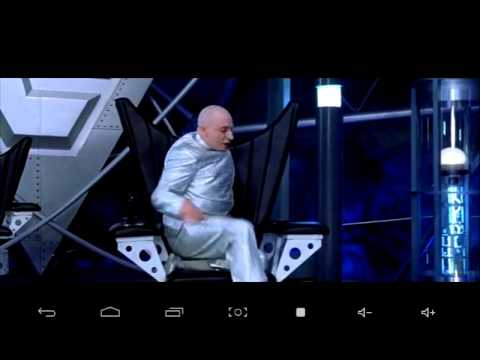 Dr Evil Chair Steel Office Cost Austin Powers Spinning Youtube