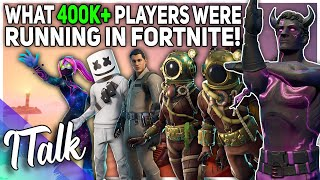 What 400,000 Players Were Running In Fortnite! (Fortnite Battle Royale)