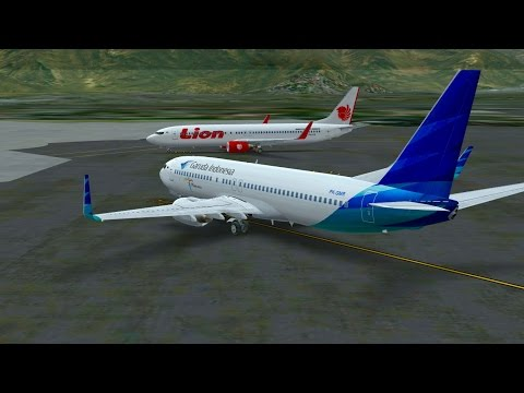 Infinite Flight Garuda Indonesia Boeing B737 - 800 KLAX - KPSP