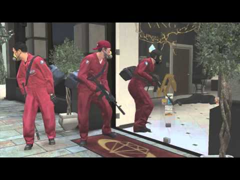 GTA 5: Jewellery Store Robbery Mission