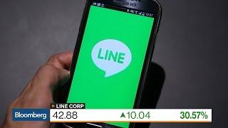 Line Soars in $1.3 Billion U.S. Trading Debut