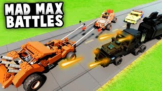 INSANE LEGO MAD MAX BATTLES! Jousting, Deathrace and Crashes! (Brick Rigs Multiplayer Gameplay)
