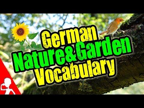 German Nature & Garden Vocabulary Lesson   Get Germanized