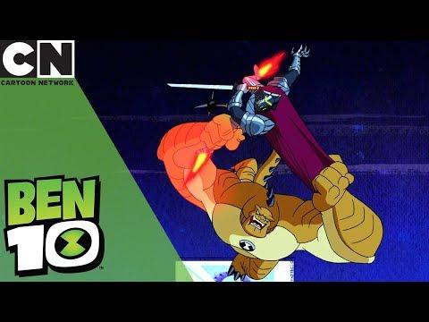 Ben 10 | Humungosaur Vs. Forever Knight | Cartoon Network UK