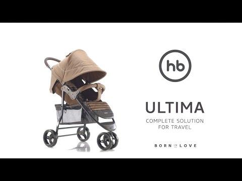 ULTIMA by HB | Happy Baby® - обзор всех функций прогулочной коляски