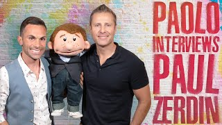 Paul Zerdin talks America's Got Talent & his new Las Vegas show!!
