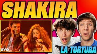 Shakira - La Tortura (Live) REACTION!!
