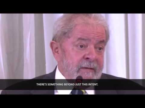 Lula talks to the foreign press