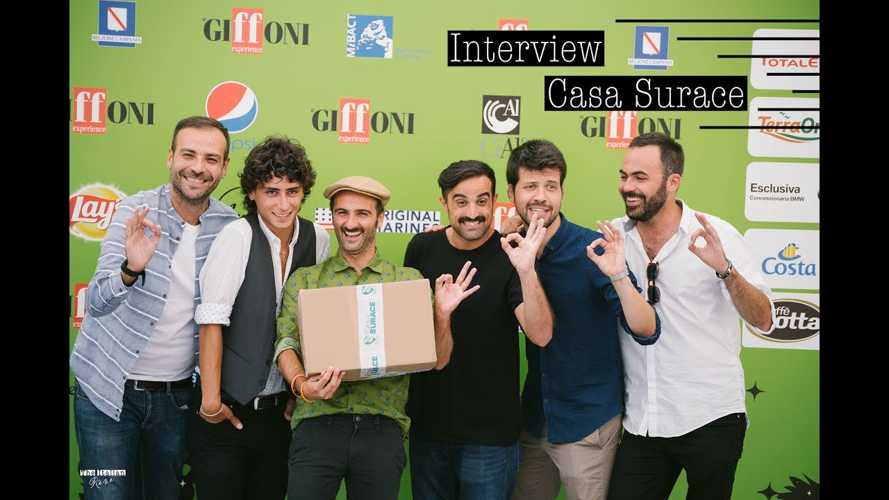 Interview with Casa Surace  Giffoni Experience 2017  YouTube