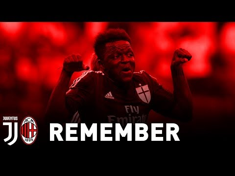 REMEMBER: JUVE - AC MILAN, MUNTARI POWER !!
