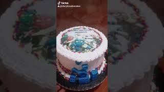 Ninjago Themed Birthday Cake