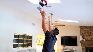 He Threw Our Kid Into The Ceiling!