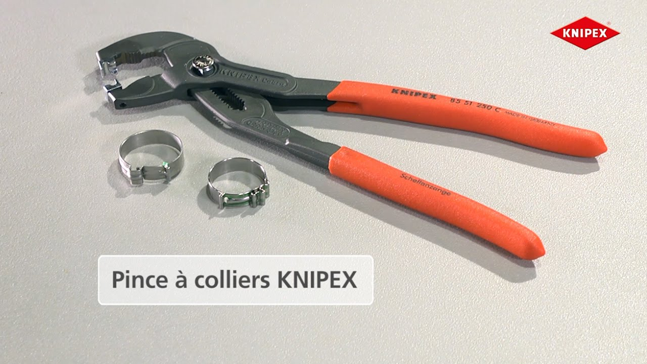 Knipex Pince à Colliers Pour Colliers Click