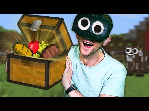 Minecraft Mixed Reality! - Never Going Hungry Again! [Ep 9]