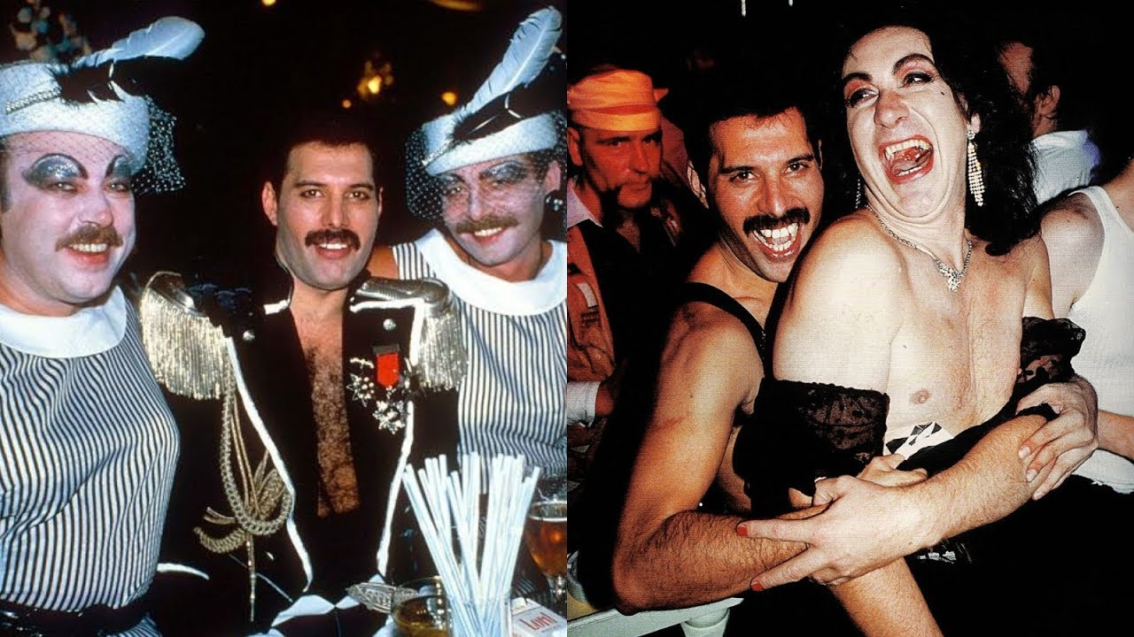 When Freddie Mercury Threw A Party Youtube