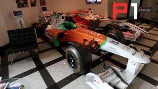 EXCLUSIVE Sahara Force India F1 Factory Tour