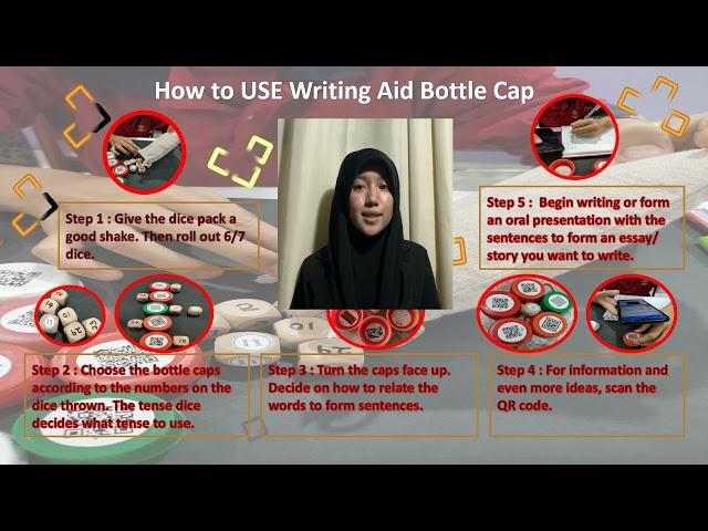 IIMOS00263: WRITING AID BOTTLE CAP