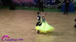Daniel Buonarrivo - Anastasia Martynova, 1-2 final  Slow Waltz