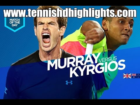 Andy Murray vs Nick Kyrgios Highlights HD 1/4 Australian Open 2015