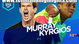 Andy Murray vs Nick Kyrgios Highlights HD 1/4 Australian Open 2015