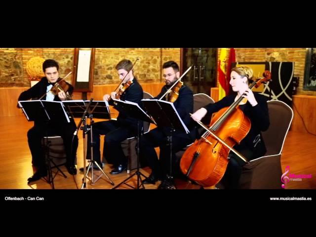 Offenbach - Can Can Music String quartet
