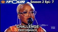 "Leah Jenea sings ""Focus"" Challenge Performance  The Four Season 2 Ep. 7 S2E7"