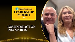 How Covid can help younger sportspersons: Andre Agassi, Steffi Graf at #HTLS2020