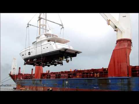 Loading Johnson93  onto the ship
