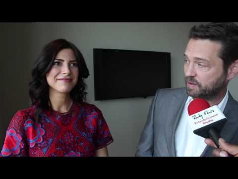 Chat w Jason Priestley & Cindy Sampson on Global TV Series P