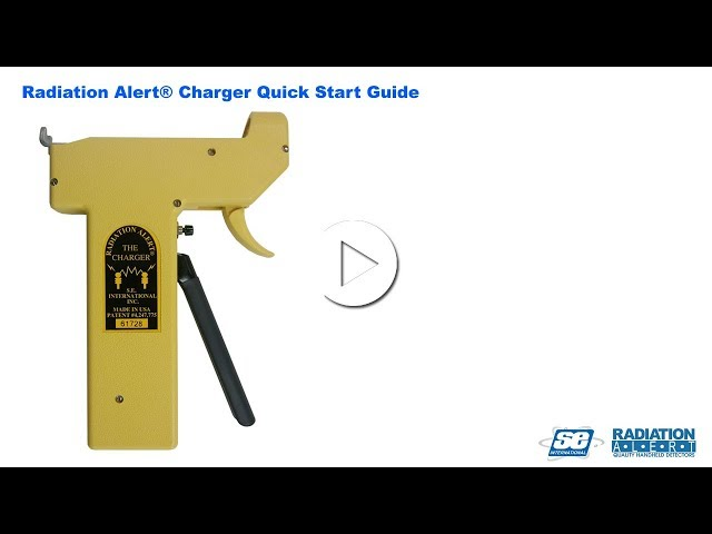 Radiation Alert Charger - Quick Start Guide