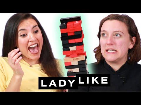 Chantel And Kate Play Truth Or Dare Jenga• Ladylike