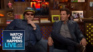 School Of Cock! - Jack Black and James Marsden Guess Celebrity Bulges - WWHL
