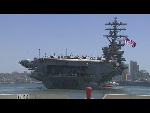 疫情后首次 美向太平洋再部署两航母战斗群(组图/视频)