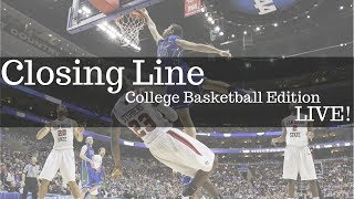 NCAAB Picks & College Basketball Betting Tips | + Army vs Navy Preview | Saturday's Closing Line thumbnail