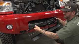 2008-2013 Nissan Titan Status Grille and Bumper Grille install video.