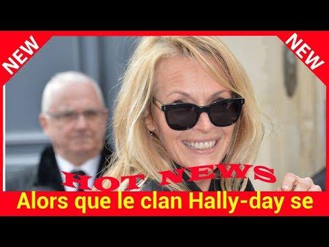 Alors que le clan Hallyday se déchire, Estelle Lefébure couvre d