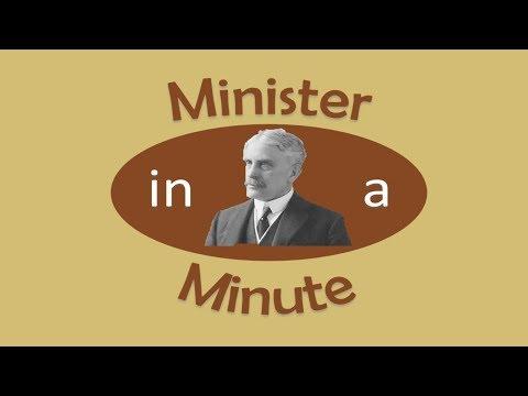 Minister in a Minute: Sir Robert Borden