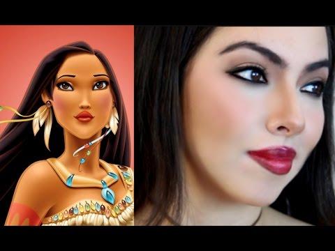 Maquíllate Sexy como Pocahontas (y cómo retocar el maquillaje) / Pocahontas Makeup Tutorial